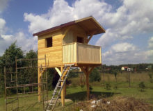 Drewniana konstrukcja