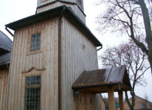 Drewniany gzyms